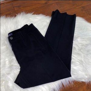 NWOT NYDJ Black Ponte Straight Slacks Pant Size 6P